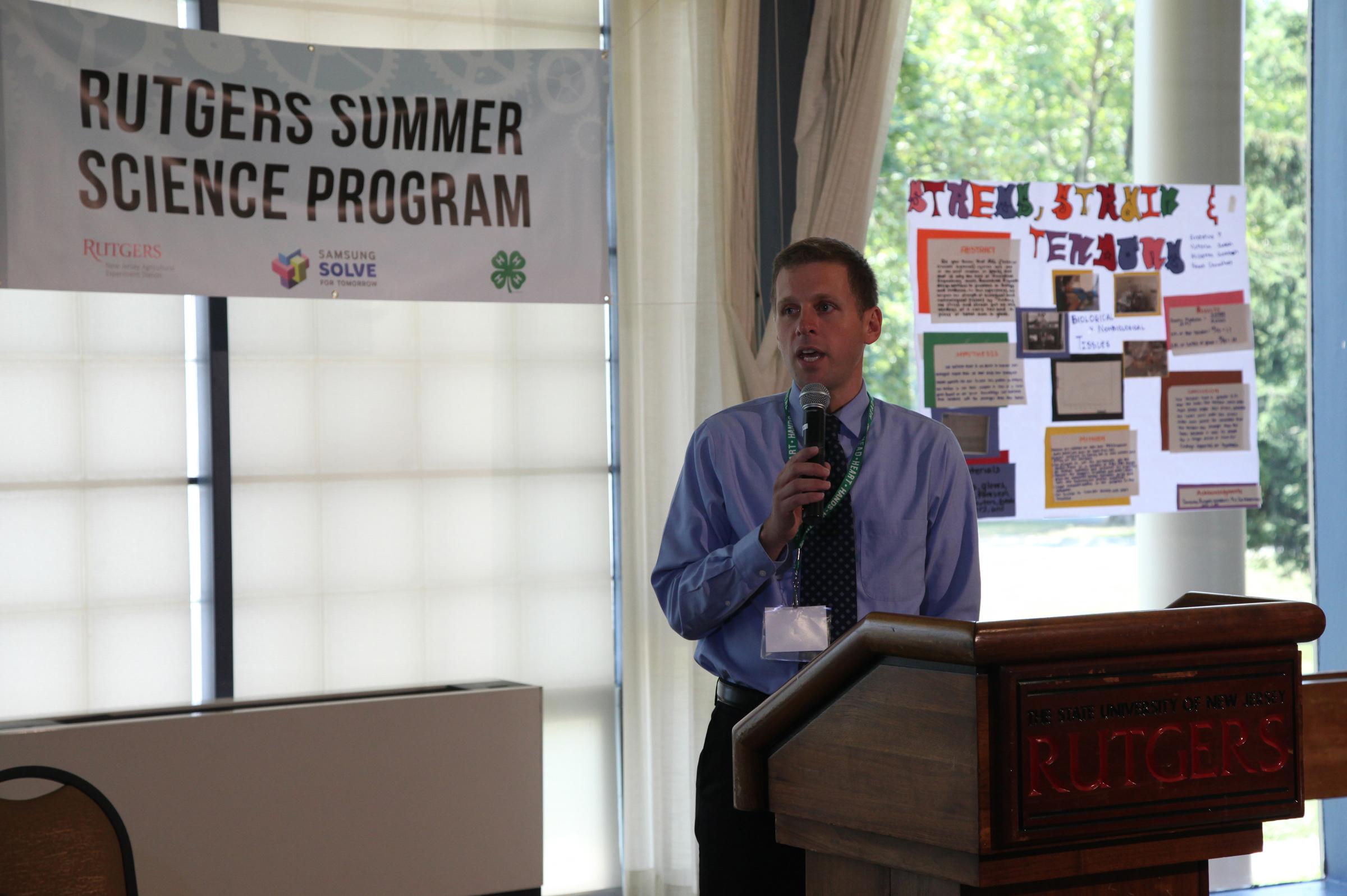 2014 Rutgers Summer Science Program