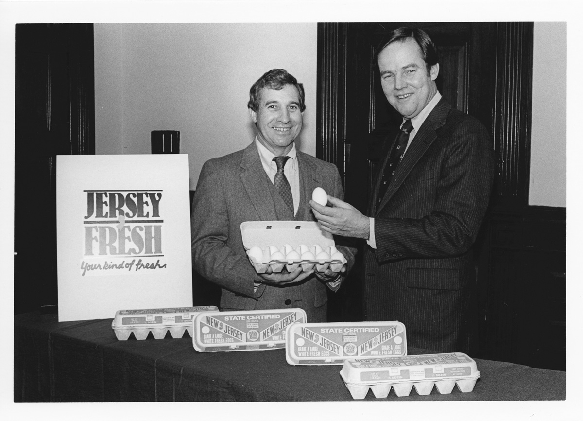 NJ Secretary of Agriculture Art Brown Through the Years