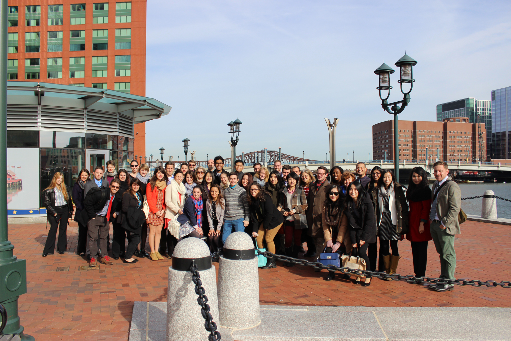 landscape architecture students make professional field trip to boston