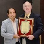Thai Alumnus Prasert Chitapong Wins Dennis Fenton Alumni Award