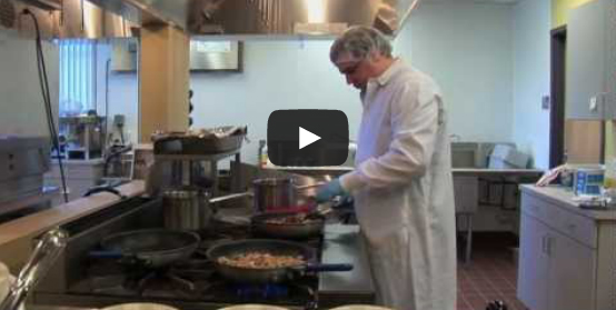 Video: Rutgers Dishes Out Healthy School Lunches