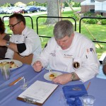 RCE Agent Gef Flimlin Judges New Jersey's Top Seafood Chef Competition