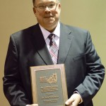 Prof. Kenneth McKeever Receives Distinguished Service Award in Equine Science