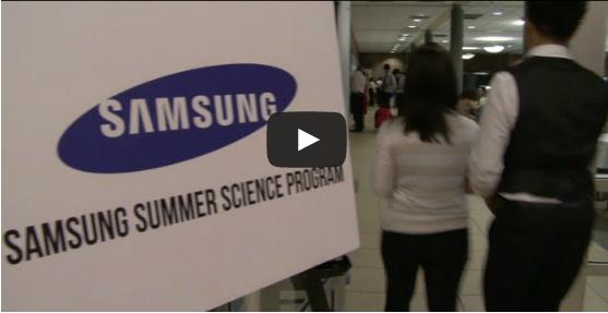Samsung Summer Science Program at Rutgers