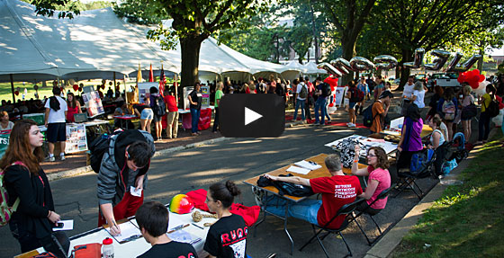 Video: Community Day on the Cook and Douglass Campuses