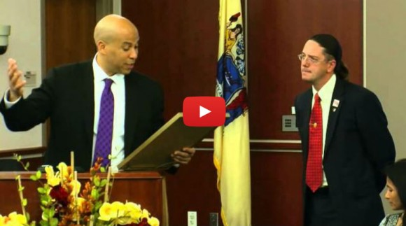 Video: Cory Booker presents TEEM Gateway Proclamation