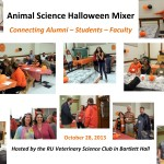 Bringing the Animal Science Community Closer Together:  A Veterinary Science Club Halloween Mixer