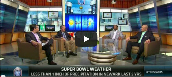 Watch NJ State Climatologist David Robinson Discuss Superbowl Weather