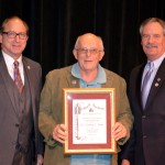 Wes Kline Receives 2014 Distinguished Service to New Jersey Agriculture Award