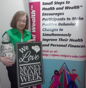 Barbara O'Neill will display the Small Steps to Health and Wealth Exhibit at the Road to Personal Wealth conference.