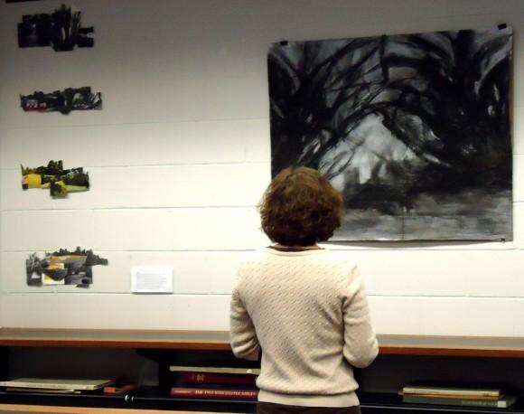 landscape architecture graduate student s solo exhibit at rutgers