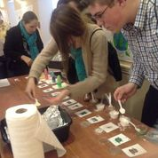 4-H'ers learn from a hands-on activity at the National Youth Agri-Science Summit.