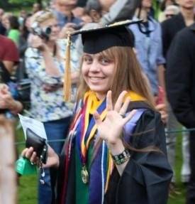 SEBS Class of 2013 Valedictorian, Nora Nealon