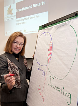 Rutgers Extension Specialist in Financial Resource Management, Barbara O'Neill