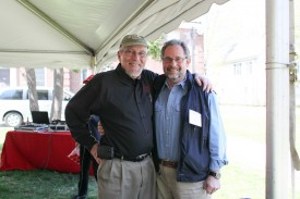 Executive Dean Bob Goodman and Jorge Berkowitz (CAES '68; GSNB '74 and '78).