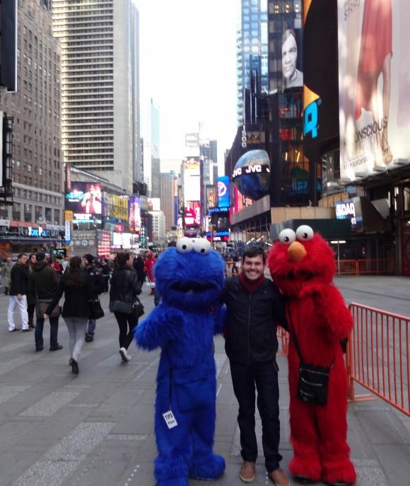 Hernan meets US celebrities in NYC.