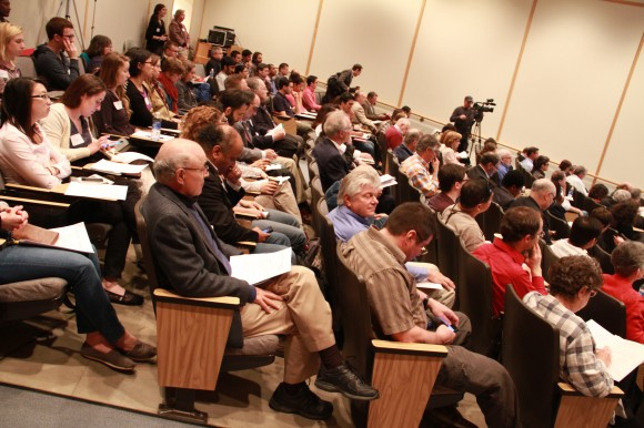 The REI Symposium provides a forum for representatives from various disciplines to examine energy issues.