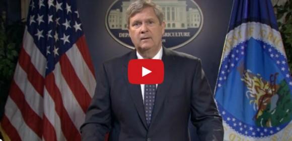 Video: USDA Sec'y Vilsack Congratulates Cooperative Extension on 100th Anniversary