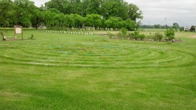 A labyrinth will be featured at the Great Tomato Tasting.