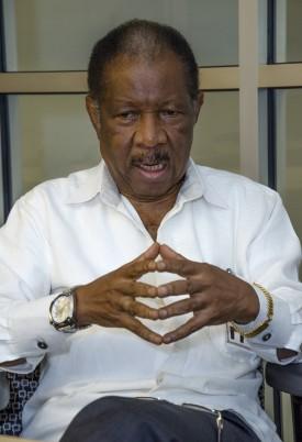University of Liberia President Emmet Dennis.