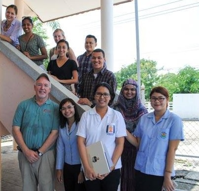As part of the ISL course the class met with Public Health Faculty from Chulalongkorn University and the medical staff at the Rural Health Clinic in Rangsit, Thailand.