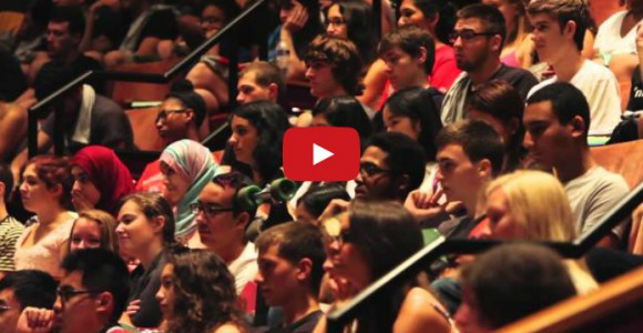 Video: Rutgers SEBS First Year Student Induction Ceremony 2014