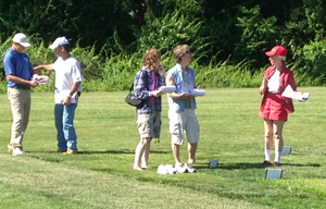 In June, New Jersey homeowners looked at and walked on different kinds of grass grown at Rutgers' Horticulture Farm II in New Brunswick.