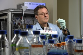 Rutgers Professor Ilya Raskin's research focuses on plant-derived functional foods and medicines.