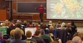 This year, Bruce Crawford, director of Rutgers Gardens, will be teaching three workshops: Exotic Plants for NJ Gardens; Color Theory for the Gardener; and 400 Million Years – The Story of Plants on Earth.