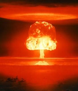 Castle Romeo nuclear test, Bikini Atoll 1954