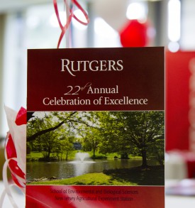 2015 Rutgers SEBS Celebration of Excellence Awards