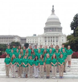 New Jersey 4-H representatives for the 2014 Citizenship Washington Focus Conference