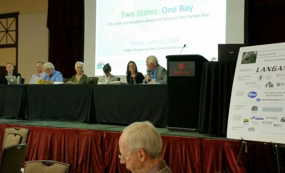 "SEBS Professors Steve Handel and Bonnie McCay participated in the ""Towards a Shared Agenda"" panel at the Raritan Bay conference."