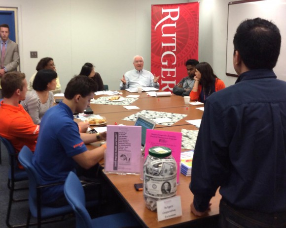 "Participants at the ""Road to Financial Wellness"" seminar held at Rutgers on June 4."