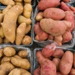 No need to peel potatoes for a more colorful potato salad.
