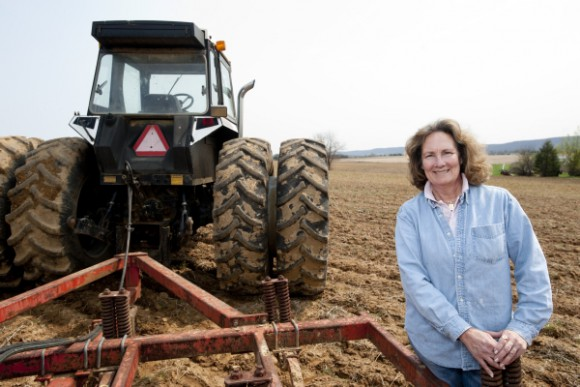 Owner of Gary C. Hartung Farms, Michell Hartung participated in Annie's Project New Jersey.