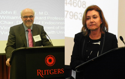 Guest speakers John E. Nestler and Sally Radovick reported on their own research and discussed the pioneering work of others in the field of Polycystic Ovary Syndrome.