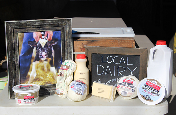 In addition to regular milk production, Fulper Farms offer a number of value-added products like cheese and yogurt.