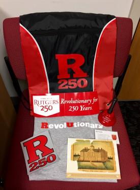 Rutgers swag-bag