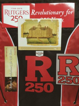 Rutgers250 prize pack- stay tuned for more chances to win!
