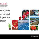 2015 NJAES Annual Report Available for New Jersey Stakeholders