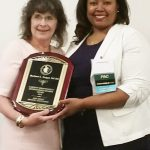 The New Jersey Dietetic Association awards Barbara Tangel its Highest Honor