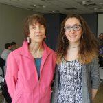 Dr. Julie Fagan, assoc. research professor and Christina Enoch.