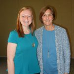 Kathryn Sinko and Dr. Wendie Cohick, professor.
