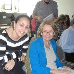MaryNasr and Dr. Carol Bagnell, professor.