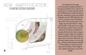 IFNH Amphitheater Garden Design.