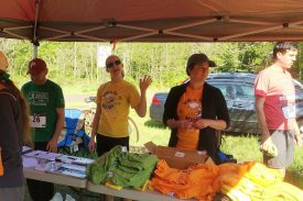 Run for the Woods - Registration table - Photo credit-Joni Baumgarten