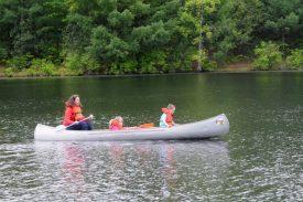 Boating on Lake Shawanni.