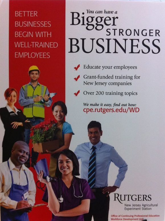Rutgers Workforce Development banner.