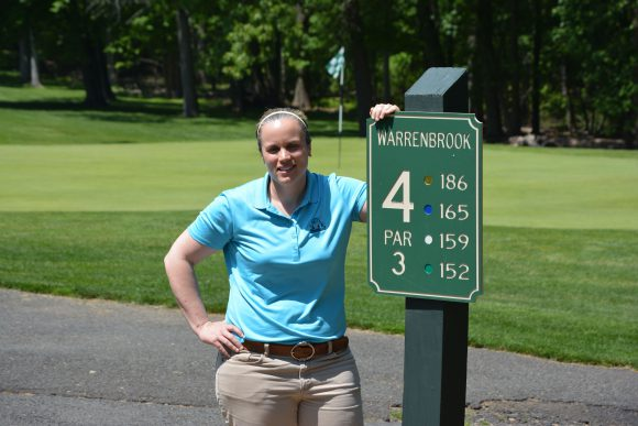 Tammy Stephens, head super at Warrenbrook Golf Course in Warren, NJ.